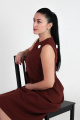 Платье VG Collection 108 коричневый