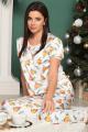 Брюки, Блуза LeNata 21021 апельсины