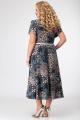 Жакет, Платье Swallow 335 синие_камушки_и