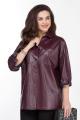 Рубашка TEZA 1794 бордовый