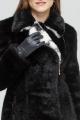Шуба Зима Фэшн Short-coat-1-02/1-10 черный_под_норку