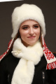 Шапка Зима Фэшн 022H-1-01 молочный_под_норку