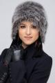 Шапка Зима Фэшн 022HZ-7-30 коричневый_под_зайца