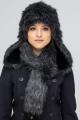Шапка Зима Фэшн 022М-4-22.6-26 черно-серый