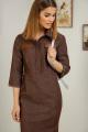 Платье Samnari Т119 шоколад