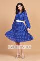 Платье Твой имидж 1327 синий