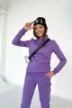 Брюки Rawwwr clothing 001 фиолетовый
