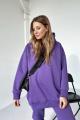 Худи Rawwwr clothing 083-начес фиолетовый