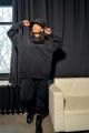 Худи Rawwwr clothing 083-начес черный