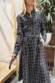 Платье Moveri by Larisa Balunova 5515 черно-белый