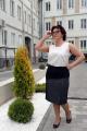 Юбка Faldas М-30 черный_с_серым