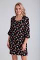 Платье Moda Versal П2262 цветы_черный