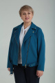Куртка Ma Vie М565 темная_бирюза