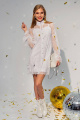 Платье Daloria 9105 белый