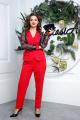 Женский костюм Anastasia 544 малиново-красный