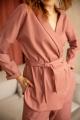 Жакет Ivera 535 розовый, черный