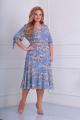 Платье Basagor 465-1 небесный