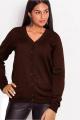 Кардиган Subota new 0405 коричневый(158/164)