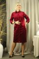 Платье Стильная леди М-207 винный