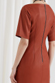 Платье Moveri by Larisa Balunova 5587 терракотовый