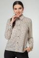 Блуза Nivard 1124 бежевый