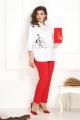 Комплект Solomeya Lux 793/449 белый+красный