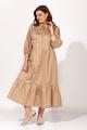 Платье 1819 бежевый