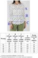 Блуза VLADOR 500610 белый