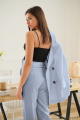 Женский костюм LadisLine 1350 голубой