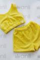 Шорты, Топ Anli 079+081 желтый
