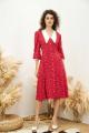 Платье VIZANTI 8172 красный