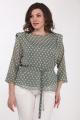 Комплект Lady Style Classic 2271 хаки-горошек