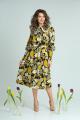 Платье SandyNa 13930 черный_фон