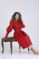 Платье SandyNa 13924 алый