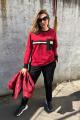 Спортивный костюм Runella 1436 красный