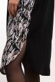 Платье La rouge 5331 черный-набивной