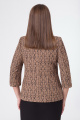 Жакет DaLi 3246 коричневый