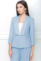 Женский костюм LeNata 31185 светло-голубой