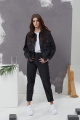 Куртка ETI Е102 черный_джинс