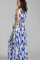 Платье Teffi Style L-1484 молочно-синий