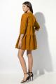 Платье VIZAVI 636 темная_горчица