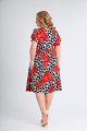 Платье SOVITA M-2110 розы