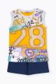 Шорты, Майка Bell Bimbo 210513 желтый/т.синий