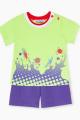 Шорты, Майка Bell Bimbo 210516 салат/фиолетовый