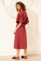 Платье Nova Line 50067 брусника