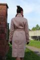 Пальто Arisha 8083 пудровый