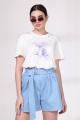 Шорты Viola Style 7034 голубой