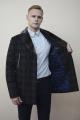 Пальто DOMINION 1878D 8C124-P49 176 темно-синий