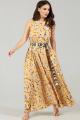 Платье Teffi Style L-1484 желтый