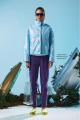 Куртка Rami 1054 неон_голубой